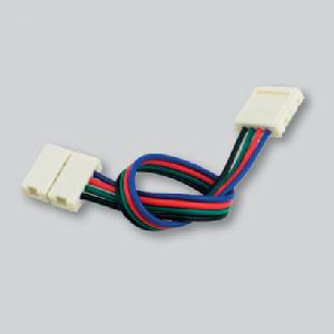 Led strip connectors